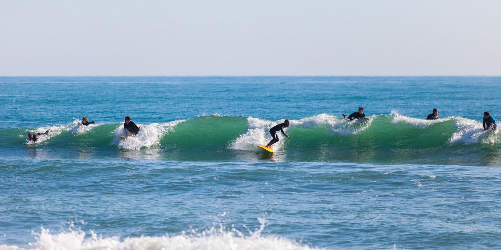 Surfere i Fuengirola